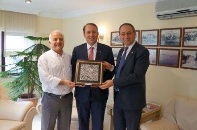 Karacan'dan YTSO'ya ziyaret