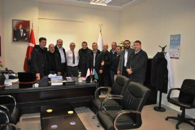 AK Parti Çınarcık İlçe Teşkilatı Kurum ziyaretlerini sürdürüyor