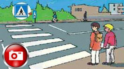 Çocuklar, güvenli bir trafik ortamında eğitim ve öğretimlerini sürdürebilecek