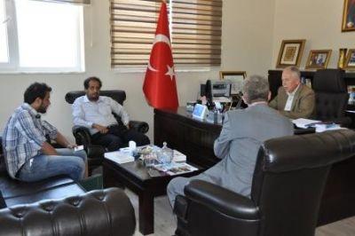 Medine İslam Üniversitesi'nden, Eruslu'ya ziyaret