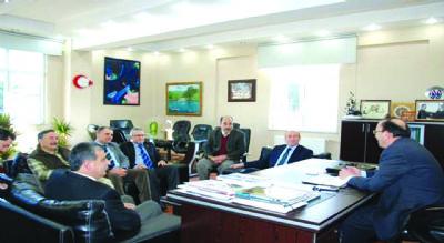Rektör Eruslu'ya destek ve tebrikler sürüyor