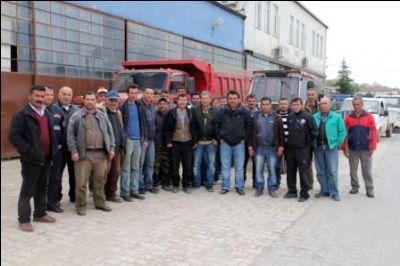 Belediye İşçilerinden, Çelebi'ye Tepki