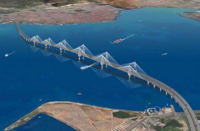 Bakan Ergün, İzmit Körfez Geçiş Köprüsü İnşaatını Gezdi