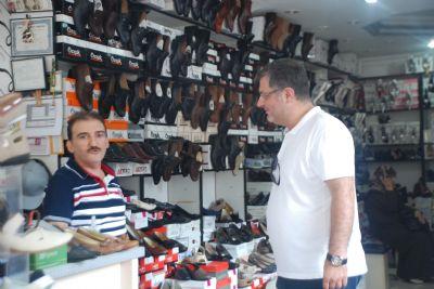 Mehmet Gürel'e esnaftan yoğun ilgi