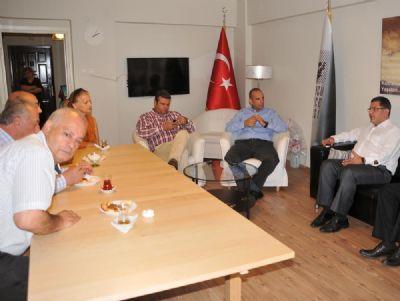Mehmet Gürel'den STK Ziyaretleri
