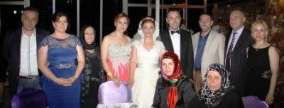 Bilge-Ömür Gürsoy çifti, dünya evine Elegance Resort Hotel'de girdi