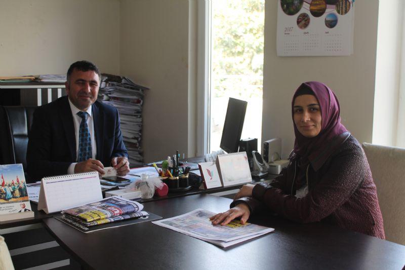 Yazar Tekin'den Manşet Gazetesi'ne ziyaret