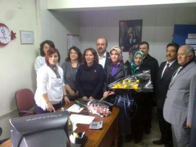 Çiftlikköy MHP İlçe Teşkilatı Sağlık Çalışanlarının Tıp Bayramı Kutladı