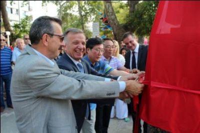 Suwon Kardeşlik Anıtı Açıldı