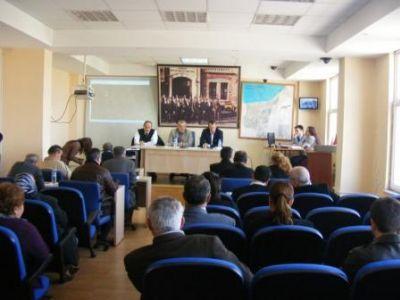 Çiftlikköy Belediyesi Mart Ayı Olağan Meclis Toplantısı'nın ilk oturumu gerçekleşti