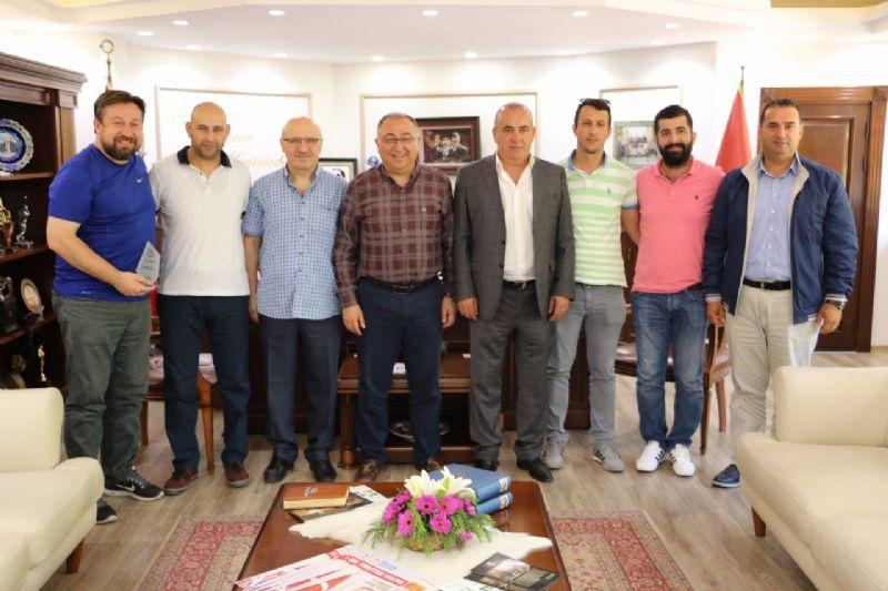 ASKF Yönetiminden Başkan Salman'a ziyaret