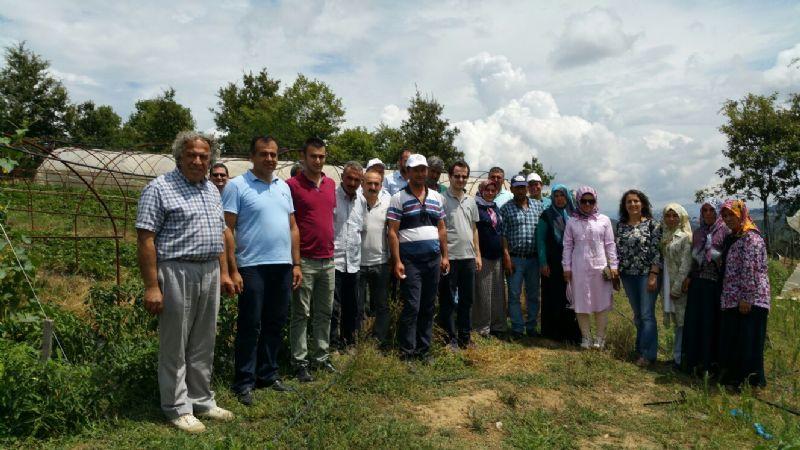 Başkan Koçal, Müdür Akyıldız'a Veda Ziyaretinde Bulundu