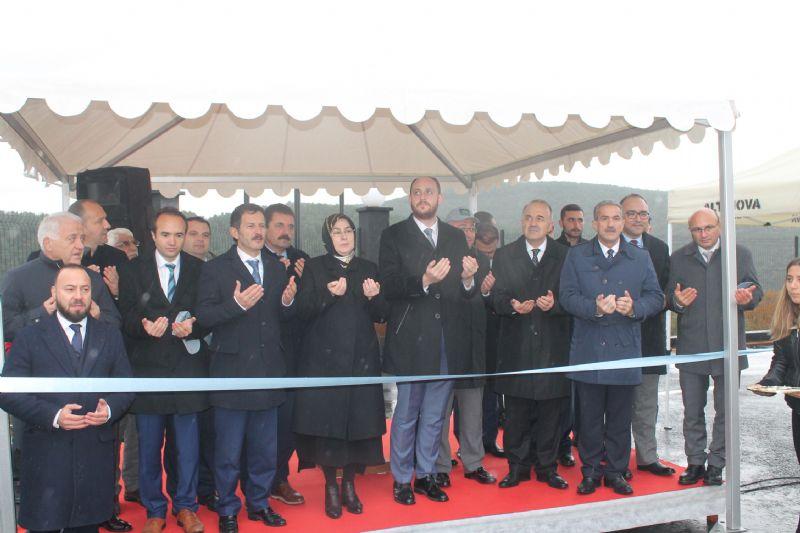 YAKAB, Elektrik Üretim Tesisi açılışını yaptı