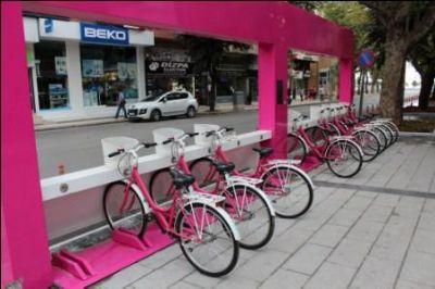 Akıllı Duraklar ve Bisikletler Hayata Geçiyor