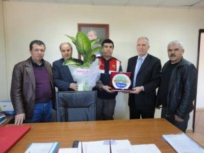 Taşköprü Belediye Başkanı Şaban Ertan'dan ziyaret