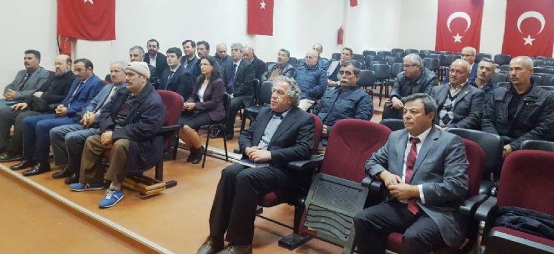 Altınova Kaymakamı Zafer Engin muhtarların sorunlarını dinledi