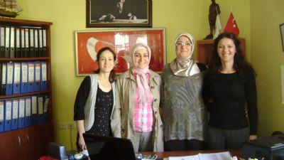 Gazi Abdurrahman Okul Aile Birliği'nden, Muhtar Filiz'e ziyaret
