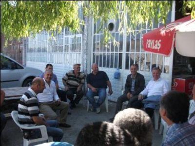 Başkan Koçal'dan, Sanayi Sitesi Esnafına Müjde