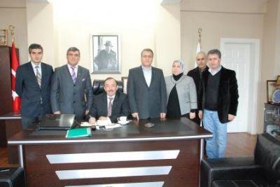 Müstakil Sanayiciler ve İşadamları Derneği (MÜSİAD) Yalova İl Temsilciliği'nin Ziyareti