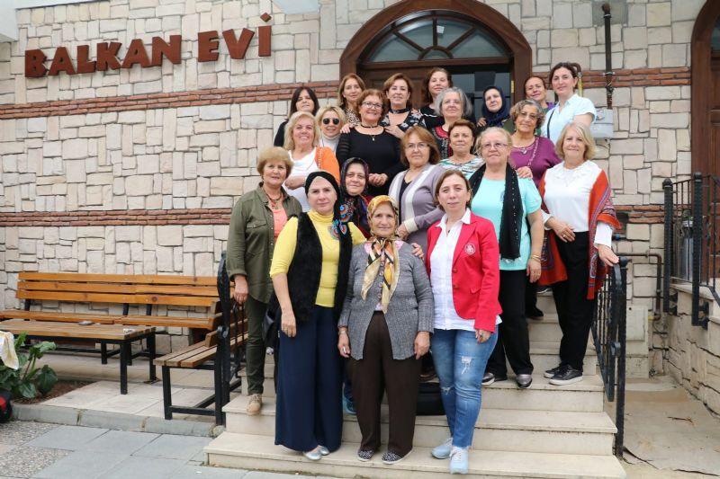 Dilek Salman'dan Yalova Balgöç Derneği'ne ziyaret