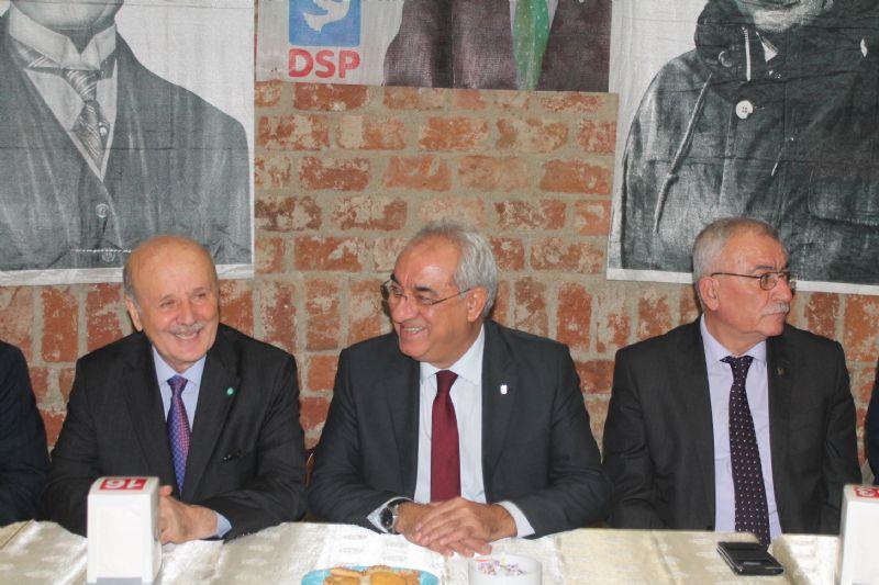 """DSP Genel Başkanı Aksakal; """"İktidarı 2023'te geri alacağız"""""""