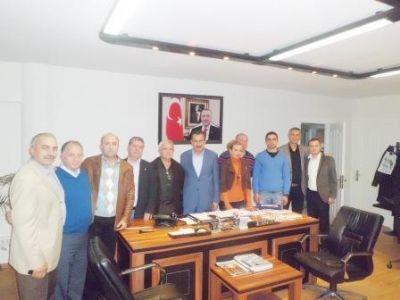 AK Parti teşkilatı sivil toplum kuruluşlarına ziyaretlerini sürdürüyor