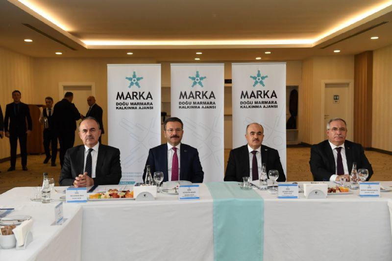 Vali Erol, MARKA Yönetim Kurulu Toplantısı'na katıldı