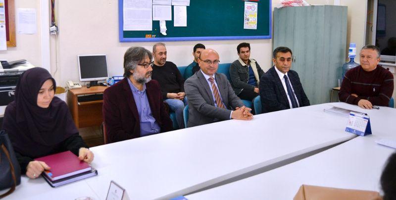 Oral'dan öğretmenlere ziyaret