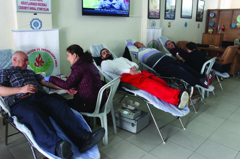 Siirt Vakfında kan bağış kampanyası
