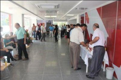 Ziraat Bankası'nın Çiftlikköy şubesi hizmetine başladı