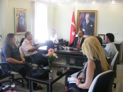 Gazetemizden, Kaymakam Karabulut'a ziyaret