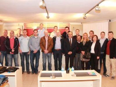 Hollandalı Çiçek Üreticileri YTSO'yu ziyaret etti.