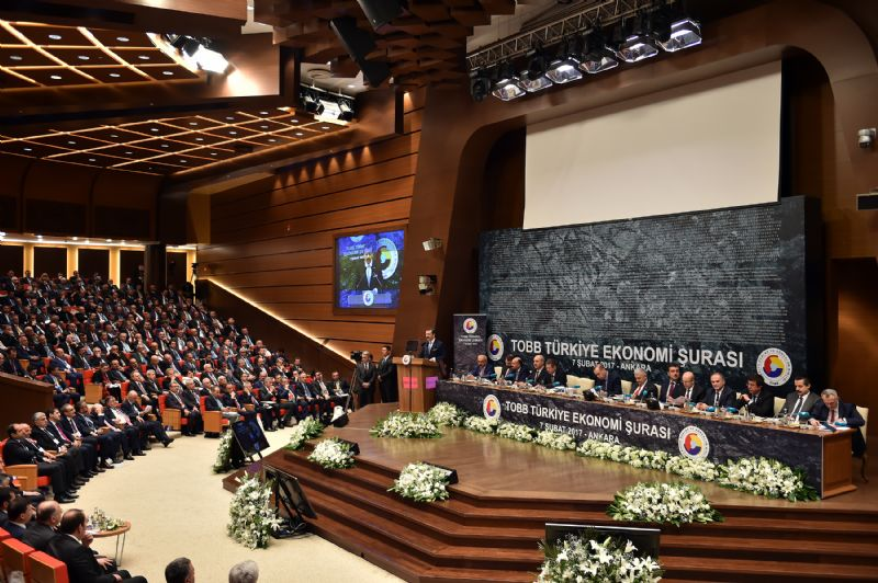 Becan ve Demiryürek, TOBB Türkiye Ekonomi Şurasına Katıldı