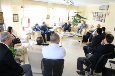 UKUB Yönetim Kurulu'ndan YTSO'YA ziyaret