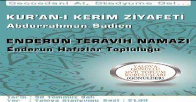 Seccadenizi alın ve 30 Temmuz Salı günü saat 21:00'de Atatürk Stadyumuna gelin