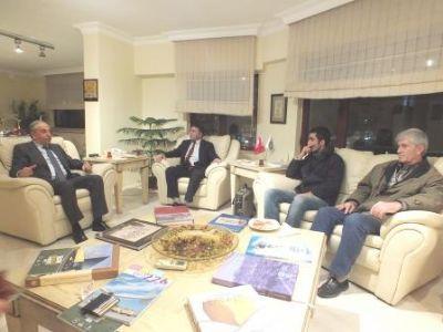 Yalova Gazeteciler Cemiyeti yeni yönetiminden, YTSO'ya nezaket ziyareti