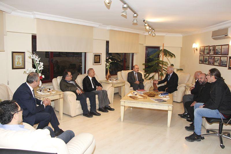 Yalova Valisi Muammer Erol, YTSO'yu ziyaret etti
