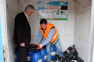 Atık Piller Çöpe Değil Toplama Noktalarına