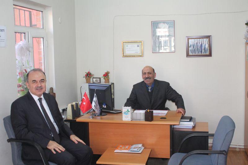 Vali Erol'dan Muhtar Polat'a iade-i ziyaret