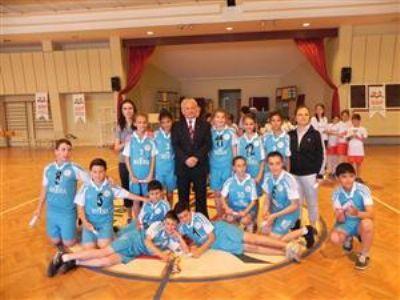 Termal ortaokulu, Marmara Bölgesini Türkiye Şampiyonasında Temsil Edecek