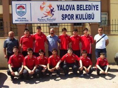 Hentbol Takımı Sakarya'da Yalova'yı Temsil Edecek