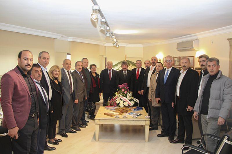 MHP İl Yönetim Kurulu YTSO' ya ziyarette bulundu