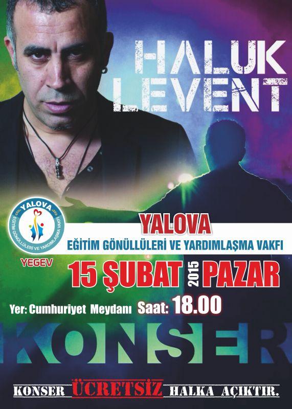 """Fikret Demir, ücretsiz """"Haluk Levent Konseri''düzenliyor"""