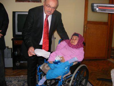 Milli Eğitim Müdüründen Engellilere ziyaret