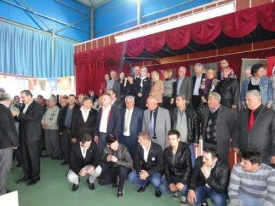 Taşköprü Beldesinde, AK Parti'ye yoğun katılım