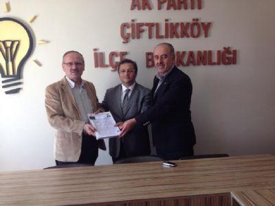 İdris Durmuş, AK Parti Çiftlikköy İl Genel Meclis Aday Adayı