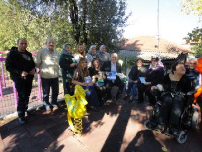 Biz de varız Engelliler Derneği'nden Ertan'a ziyaret