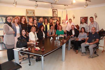 Mhp Merkez İlçe Başkanı ve Yönetim Kurulu üyeleri Yalova kadın girişimciler kurulunu ziyaret etti