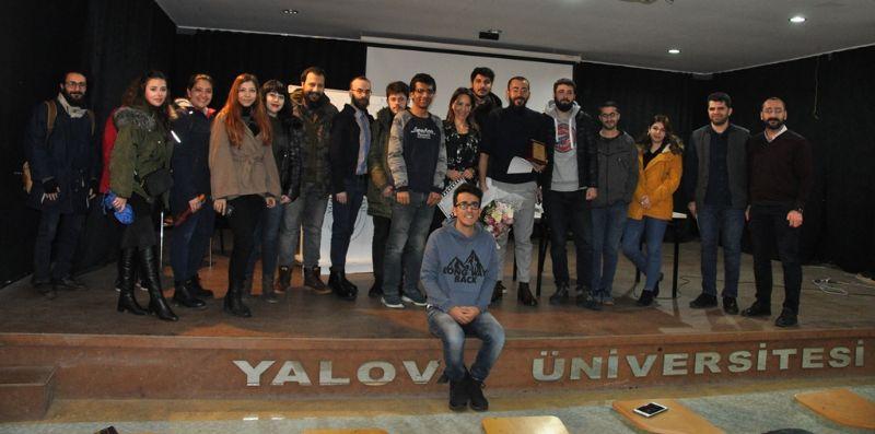 Ödüllü Yönetmen Adnan Yağız Yeşilyaprak Yalova Üniversitesi'ne konuk oldu