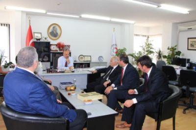 YTSO, Bilim Sanayi ve Teknoloji Bakanlığı Sanayi Bölgeleri Genel Müdürlüğünü ziyaret etti